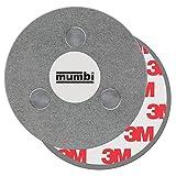mumbi Supporto magnetico per rilevatori di fumo, per superfici lisce, non per cippato o intonaco sfuso, Ø70mm, (1 pezzo)