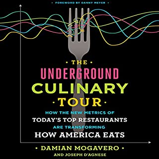 The Underground Culinary Tour audiobook cover art