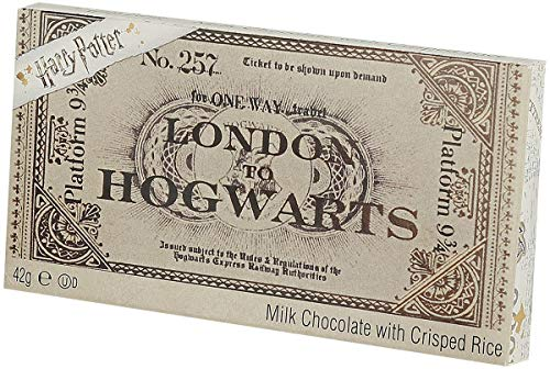 Jelly Belly Harry PotterHogwarts Ticket Chocolate Bar, 42 Gramos