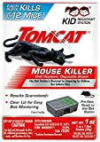 Tomcat Mouse Killer Disposable Station for Indoor Use - Child Resistant (2 Stations)