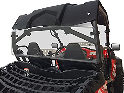 Spike Powersports CF Moto Z-Force Rear Windshield With Sliding Vent