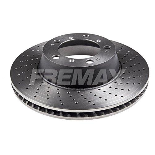 Fremax Bremsscheibe HC, Hinten Rechts, Gelocht, (Dieser Artikel enthält 1 Bremsscheibe: für die rechte Hinterachse)