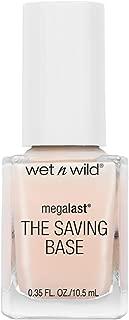 Wet & Wild Megalast Nail Polish The Saving Base 220d Never Basic Base Coat, 0.3 Ounce