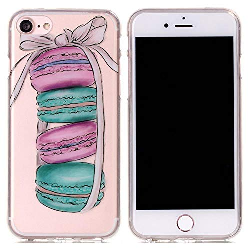 IFMGJK Carcasa suave para iPhone XS Max Unique Case X XR 10 Coque iPhone 7 8 Plus 6 6S 5 S 5S 5SE 6Plus 7Plus 8Plus (color: 1, tamaño: para iPhone 7 Plus)