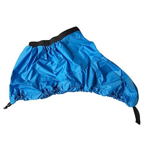 D DOLITY Staubschutz Kajak Spritzdecke Wasserfeste Spritzschutz Cover Decke Abdeckung - S Blau
