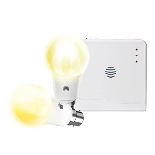Hive Active Light Starter Kit,Works with Alexa-B22, B22, 9 W, White