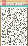 Marianne Design Plantilla de Máscara, Leopardo, para Scrapbooking, Crear Tarjetas y Otras Manualidades con Papel, rosado, talla única