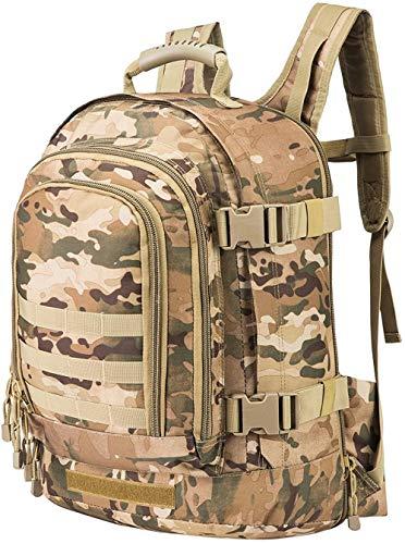 ACOMOO Expandable Backpack 39L-64L Large Tactical Bug Out Bag Wth Waist Strap Multicam