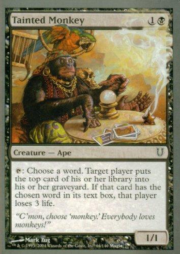 Magic The Gathering - Tainted Monkey - Unhinged