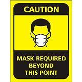 WALLSTICKS Vinyl Self Adhesive Corona Virus Safety Prevention Hospital Office School Industries Wall