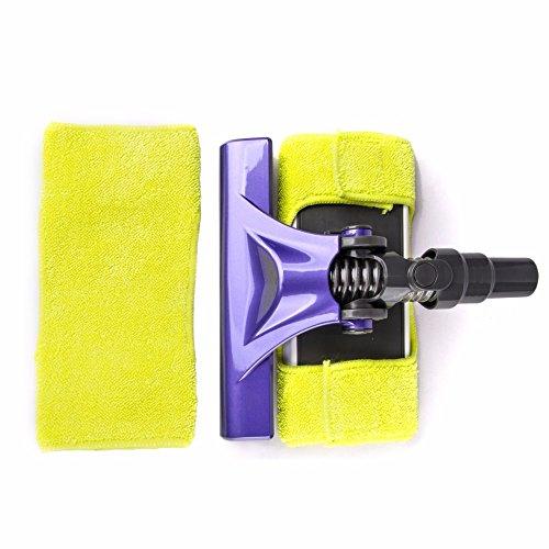 Bureze Cabezal de limpieza con trapo para aspiradora Dibea F6