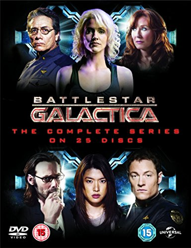 Battlestar Galactica: The Complete Series [25 DVDs] (UK Import)