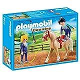 PLAYMOBIL- Entrenador de Caballos Figuras de Juguete (6933)