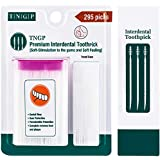 TNGP Toothpicks for Teeth, Interdental Brush Picks, 590 Count-2 pack