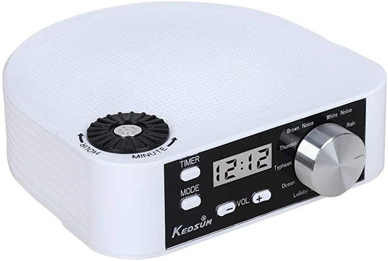 KEDSUM White Noise Machine Sleep Sound Therapy System With 10 Natural Sounds Sleep And Relax Well Sleeping Sound Machine