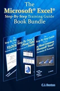 The Microsoft Excel Step-By-Step Training Guide Book Bundle (The Microsoft Excel Step-By-Step Training Guide Series) (Volume 4)