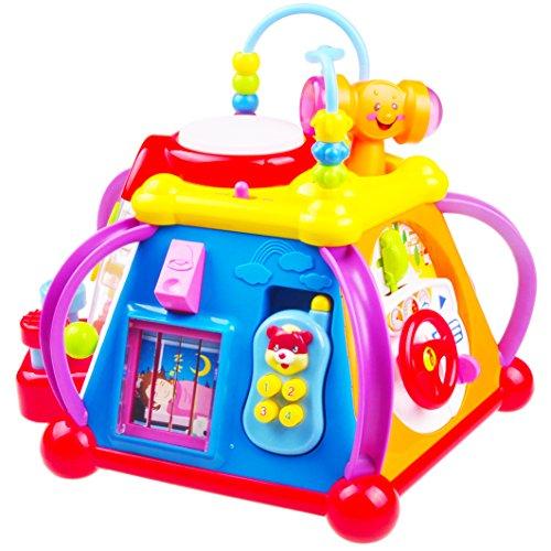 Think Gizmos Juguetes de Actividad para niños pequeños - Juguetes educativos interactivos para niños pequeños (Centro de Actividades)