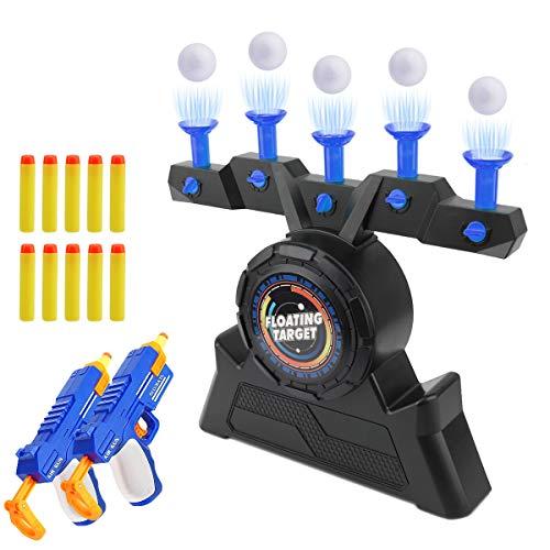 Herefun Schwimmendes ZielSpiel Spielzeug, Elektrische Kinderspielzeug, Zielscheibe Schießspiele Toy, Elektro-Schießscheiben Zielschießen, Luftschuss Hover Shot Floating Target (Blau)