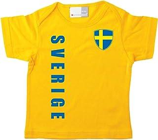 aprom Szwecja dziecięca koszulka - Mistrzostwa Świata w piłce nożnej No. 1 G SWE