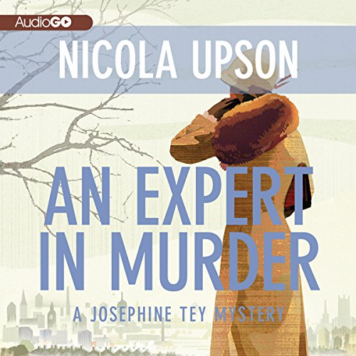 An Expert in Murder audiobook cover art