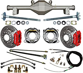 NEW CURRIE 79-93 5-LUG FOX BODY REAR END WITH WILWOOD DISC BRAKES,11