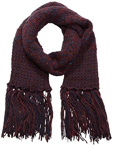 s.Oliver Damen Schal 39.510.91.6791, Einfarbig, Gr. One size, Mehrfarbig (red knit 39X1)