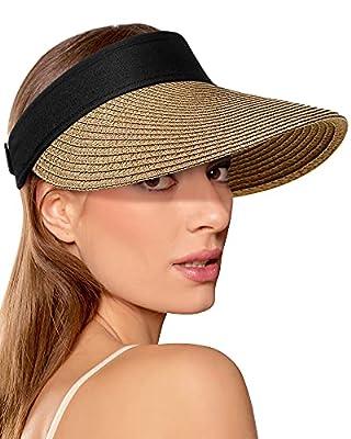 Women Straw Sun Visors
