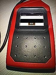 Morpho SRPL MSO 1300 E3 Bio Metric Fingerprint Scanner with RD Service (14x22 mm, Red),Morpho
