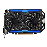 QINGMEI Graphics Fan Fit for GIGABYTE Geforce GTX 960 2GB Graphics Cards 128Bit GDDR5 for NVIDIA Map GTX960 GM206 GV-N960OC-2GD Hdmi Video Card Game Graphics Card
