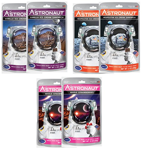 freeze dried icecream astronaut food