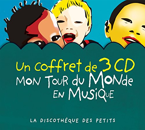 Mon tour du monde en musique - Coffret 3 cd
