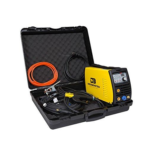 Schweißgerät Inverter AC DC WIG TIG MMA ARC 200A mit Koffer + GRATIS UP-DOWN Schalter