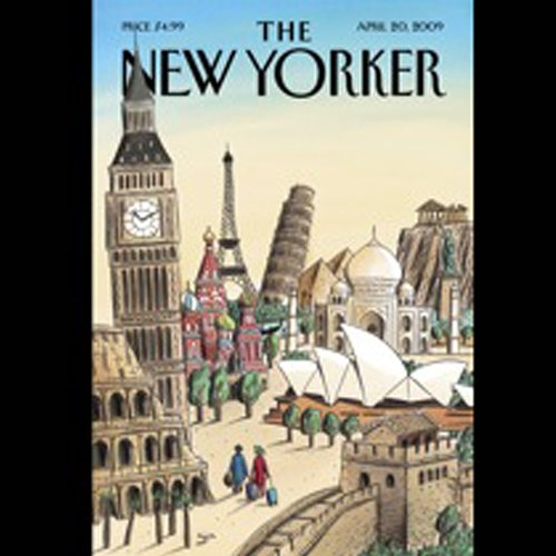 The New Yorker, April 20th, 2009 (Burkhard Bilger, Dorothy Wickenden, Sasha Frere-Jones) cover art
