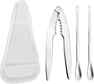 Seafood Tools Set مجموعة أدوات المأكولات البحرية 3-piece تشمل المفرقعات و الشوكات مجموعة الأطعمة البحرية أدوات السلطعون ال...