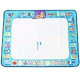 Tnfeeon Kinder Magic Doodle Mat Graffiti Teppich Wasser Zeichnung Mat Bunte pädagogisches Spielzeug Kleinkinder Jungen Mädchen -