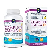 Nordic Naturals Complete Omega 3-6-9 with D 1000 mg 120 Softgels