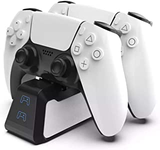PS5 Controller Dock Station For Sony Playstation 5 Dual LED Charger Stand