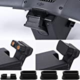 Honbobo Cubierta para DJI FPV Drone, FPV Drone cubierta protectora tapa final a prueba de polvo a prueba de humedad silicona cubierta Accesorios