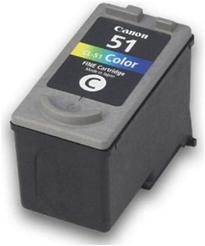 Original Canon Tintenpatrone Cyan Gelb Magenta 0618b001 51 Cl Bürobedarf Schreibwaren