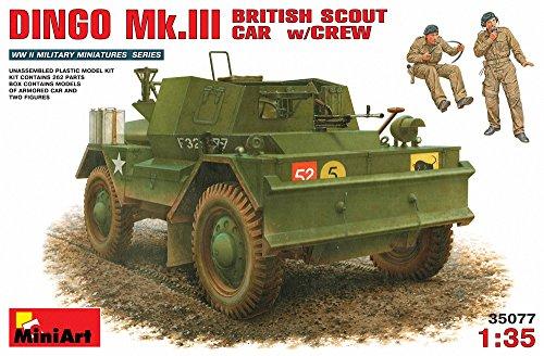 Unbekannt Mini Art 35077 – Dingo MK. III Recon Vehicle Britannique with Crew