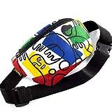 Casual Daypack Crossbody Bag Belt Waist Packs, Waist Pocket, Adjustable belt bag, famous art canvas, for travellers (Multicolor)