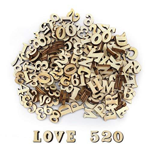 Dylan-EU Dylan-EU 200 Stück Hölzerne Großbuchstaben Bild