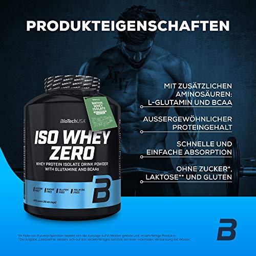 Biotech USA Iso Whey Zero Cookies und Cream, 1er Pack (1 x 2.27 kg) - 2