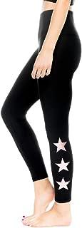 Star Ankle Legging Womens Active Workout Yoga Leggings