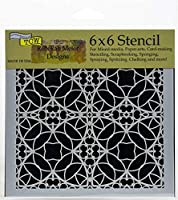 """Crafter's Workshop Template 6""""X6""""-Spanish Tile"""