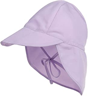 EMEM Apparel Baby Sun Hat UPF 50+ Protection Adjustable Infant Summer Beach Flap Hats Breathable Toddler Swim Pool Play Sunhat Wide Brim