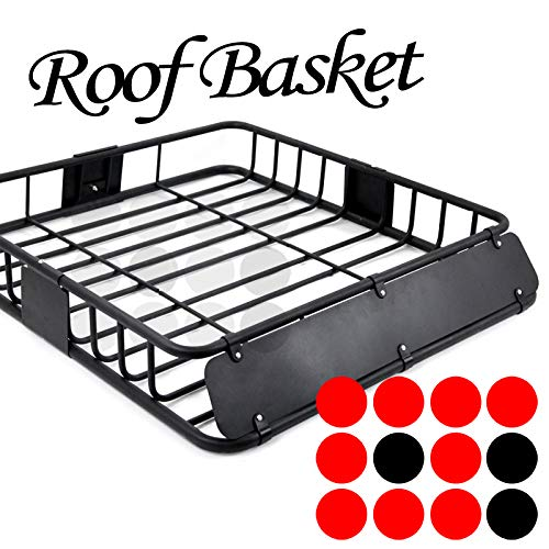 LT Sport 43' Universal Rooftop Basket Cross Bar Mount Cargo Rack Storage Carrier