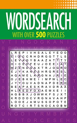 Compare Textbook Prices for Wordsearch: With Over 500 Puzzles  ISBN 9781784282813 by Saunders, Eric