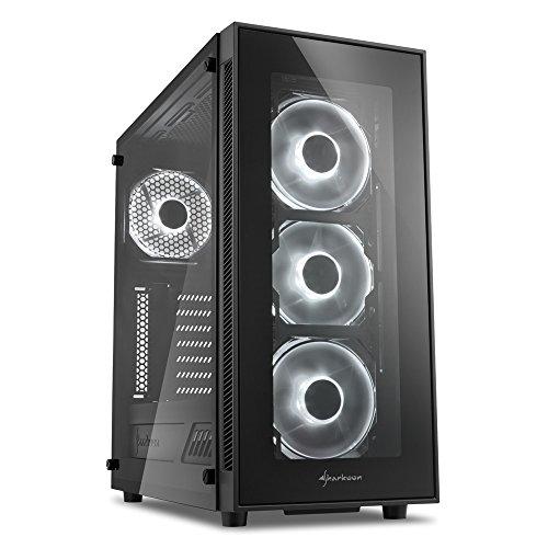 Sharkoon TG5 Midi-Tower Black
