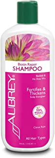 Aubrey Biotin Repair Shampoo | Helps Strengthen Fine, Thin Hair | Baobab Oil & Ho Shou Wu | 75% Organic Ingredients | All Hair Types | 11oz